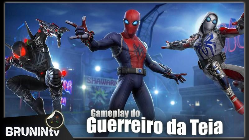 Marvel Reino dos Campeões - Gameplay do Guerreiro da Teia