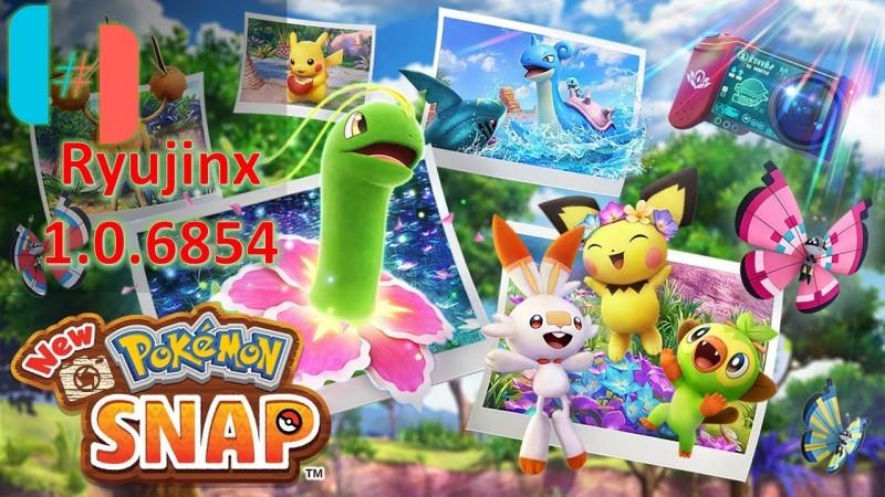 New Pokémon Snap - Ryujinx 1.0.6854 Api opengl