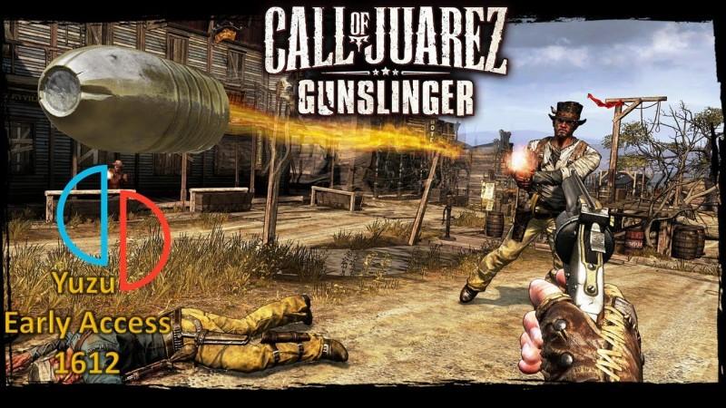 Yuzu Early Access 1612 - Call of Juarez: Gunslinger