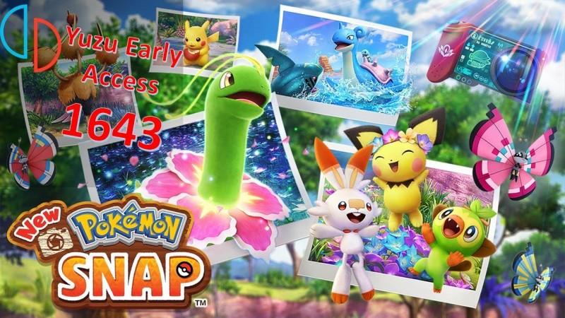 Yuzu Early Access 1643 Api Vulkan - New Pokémon Snap