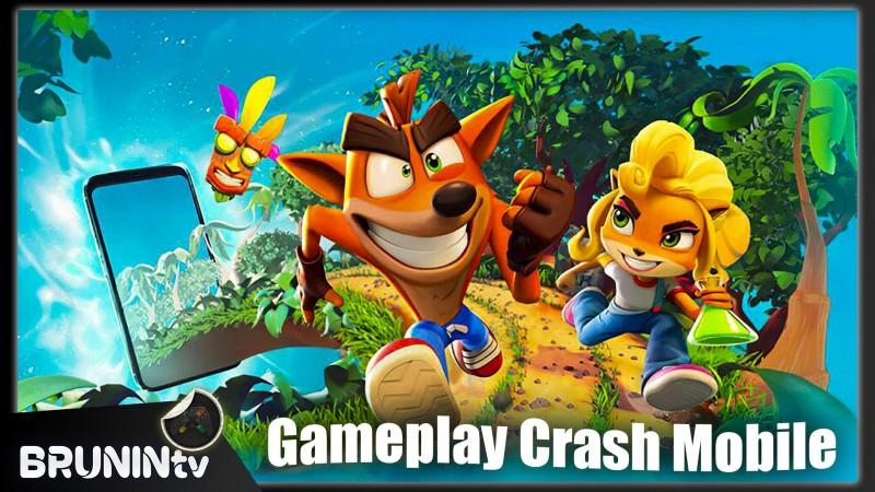 Crash On the Run - Gameplay Crash Mobile