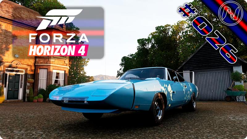 Forza Horizon 4 | Playthrough | Events 076 - 078 | Dodge Charger Daytona