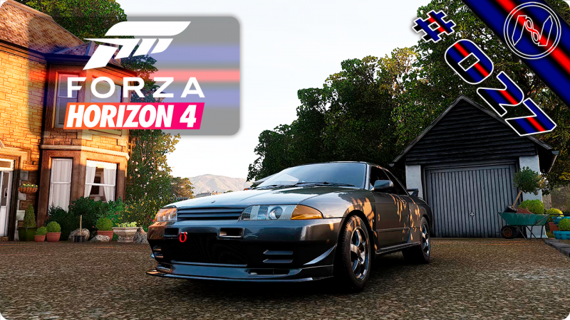 Forza Horizon 4 | Playthrough | Events 079 - 081 | Nissan GT-R 93