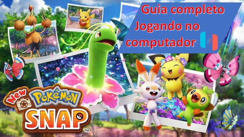 Ryujinx New Pokemon Snap - Guia completo jogando no computador.