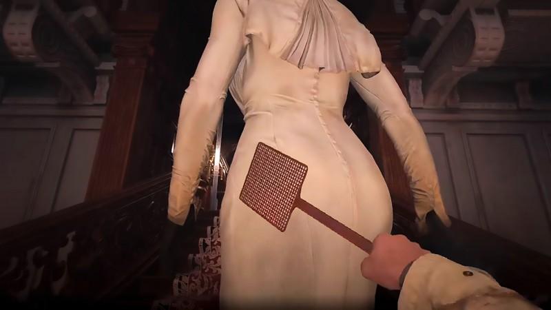 Um tapa na gostosa Slap Lady Dimitrescu (Resident Evil 8 Village)