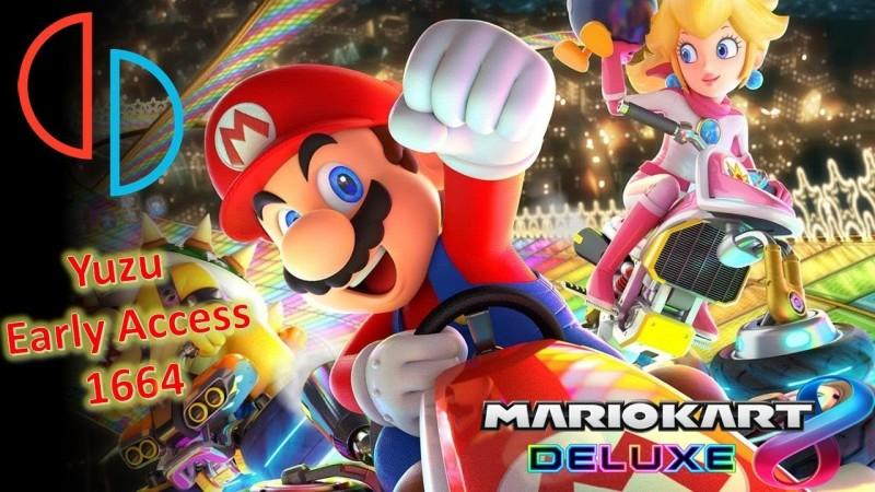 Yuzu Early Access 1664 - Mario Kart 8 Deluxe+i7-3770+GTX1060