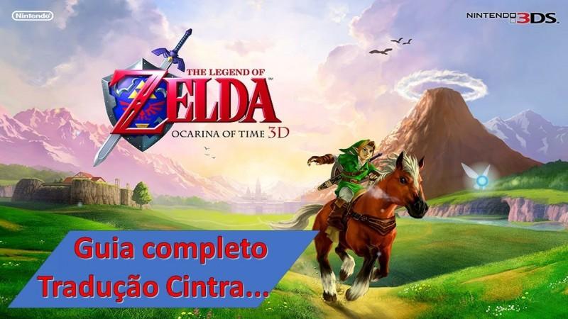 The Legend of Zelda Ocarina of time 3DS - Guia completo tradução.