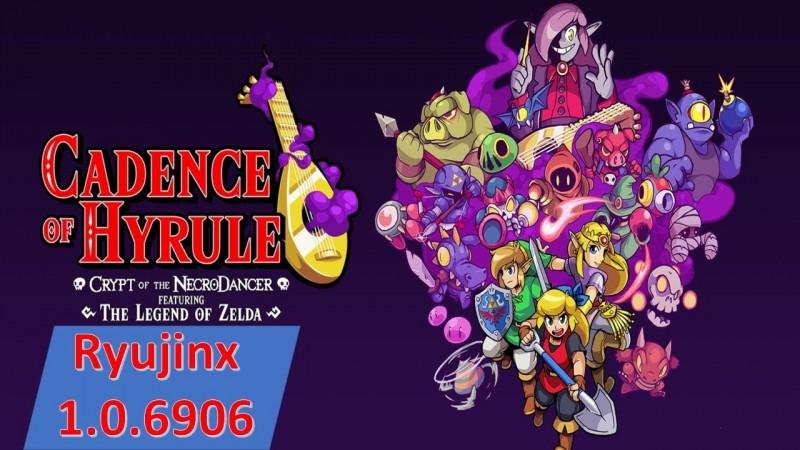 Cadence of Hyrule: Crypt of the NecroDancer featuring The Legend of Zelda #ryujinx #emulator #yuzu