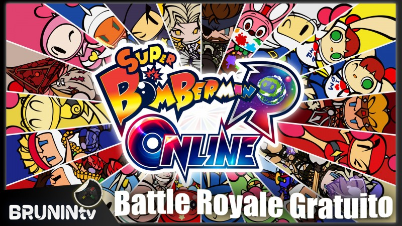 Super Bomberman R Online - Battle Royale Gratuito