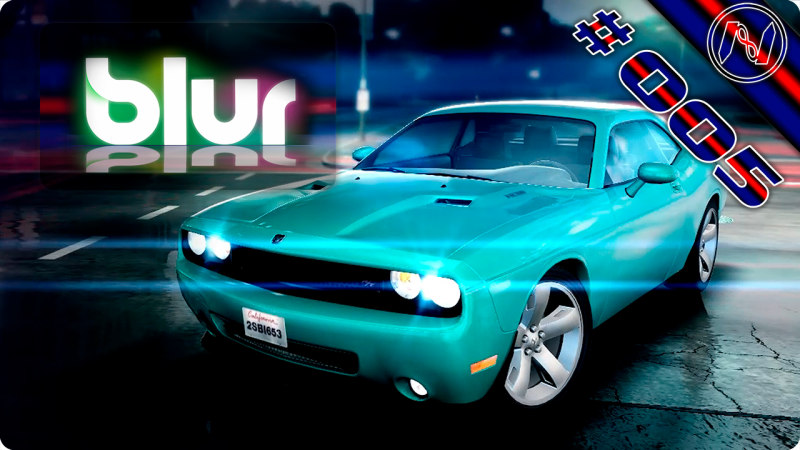 Blur   Proving Grounds   Race Class D   Dodge Challenger SRT8