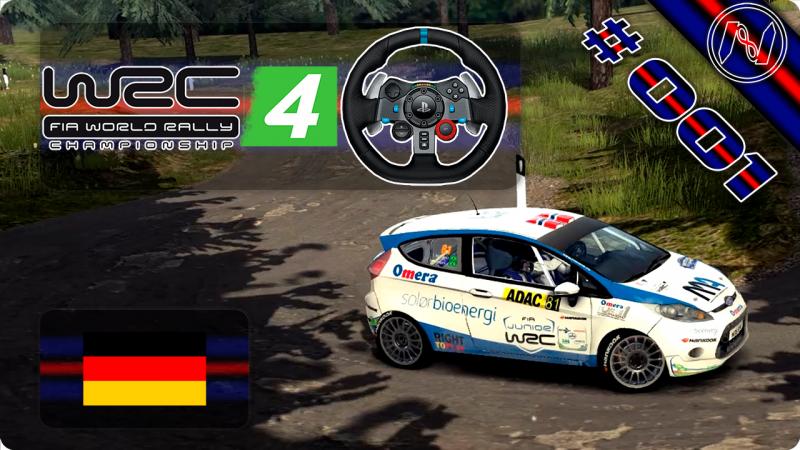 WRC 4   Playthrough   G29   Alemanha   Stage 1-6   Sauertal   Ford Fiesta R2